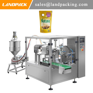 Honey Mustard Sauce Stand Pouch Packing Machine Price Profession Liquid Packaging Machinery Manufacturers