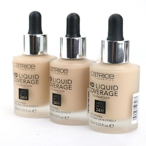 SUPERIORE !! Liquid Foundation Catrice HD Liquid Coverage Foundation 30ml DURA spedizione FINO A 24H Catrice Free Foundation