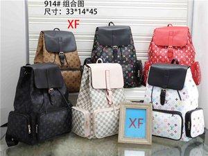 Tasarımcı modacı sırt çantası bayanlar tasarımcı lüks eli Anahtarlık cüzdan çanta sırt çantası okul çantası 914