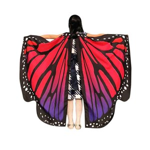 2019 Hot sale Egypt Belly Wings Butterfly Egypt Dance Costume Accessory Performance Prop Colorful No Sticks Free Shipping CG