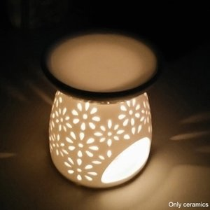 الشاي ضوء حامل نوم مكتب تفريغ المنزل الديكور شمعة رائحة الفرن الناشر السيراميك مصباح الضروري النفط الموقد JK0217