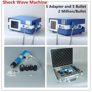 À compter du 8 Bar 2.000.000 Prise de vue en Shockwave Thérapie Équipement esthétique 5 Adaptateur 5 Bullet For machine Shock Wave Portable