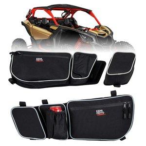 Passageiros e motorista Mais Veículo Parts Acessórios ATV Parts Acessórios UTV porta lateral Sacos Side Storage Bag joelheira para