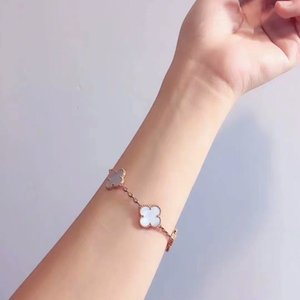 Пара подарков Лист Браслет Женский Простой Темперамент Мода розовое золото для женщин ювелирные изделия браслета ZK40