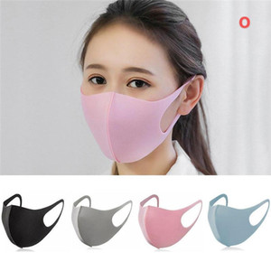 Cotone PM2.5 Carino lavabile bocca maschera anti polvere Haze maschera con filtro antivento Naso Volto a muffola batteri influenza del panno del tessuto respiratore. # QOO