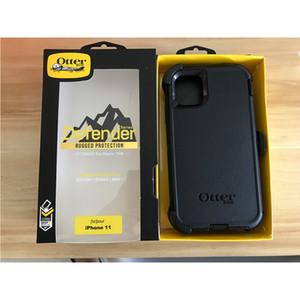 Defneder simmetria per iPhone 11 iPhone 11 Pro Max Steel Armatura TPU PC riguarda i casi di Nota 10 Nota 10 più con clip da cintura