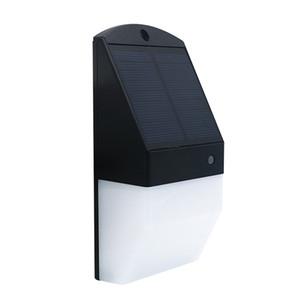 Edison2011 25 LEDs Lámpara solar Iluminación exterior Luz solar solar Luz solar impermeable Lámpara de jardín solar Sensor de movimiento radar de luz