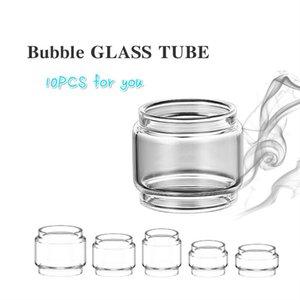10PCS tube de verre à bulles pour Eleaf Ijust NexGen 3 / ELLO DURO vée TS / pico 25 / Serpent SMM / Serpent Elevate / Resa tfv8 gros bébé / Stick X8 / flux de réservoir