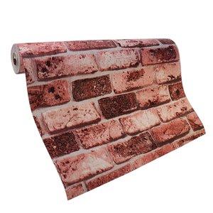 3D Brick Wall Sticker Panel Decal Wallpaper Wall Murals Decor 53*1000cm