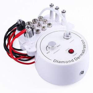 Hot 3 em 1 diamante Microdermabrasion Dermabrasion Água máquina de pulverização Esfoliação beleza máquina rugas dispositivo Peeling Facial
