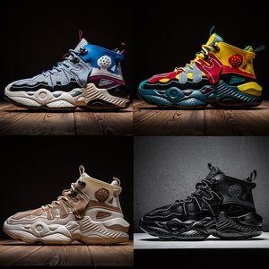 İndirim Orta Üst yaşlı babam Koşu Ayakkabı chaussures zapatos schuhe erkek eğitmenler kadınlar Moda Atletik Casual ayakkabılar Ayakkabı arttırın