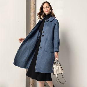 Winter Coat Women Real Fur Coat Women Korean Warm Wool Jacket for Womens Clothing Abrigos Mujer Invierno 2020 F201 YY1029