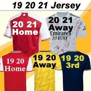 2019 2020 2021 Ev Kırmızı Erkek Futbol Formalar Dışarıda Sarı 3 Kısa Kollu Gençlik Futbol Gömlek 19 20 Moda Yetişkin Üniformalar Düşük fiyat Satış