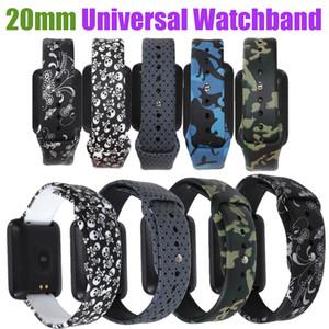 20mm Evrensel Kayış Huawei İzle 2 için Uyumlu Amazfit Bip Bit Amazfit GTR Ticwatch 2 Için 42mm Hızlı Yayın Akıllı Bilezik