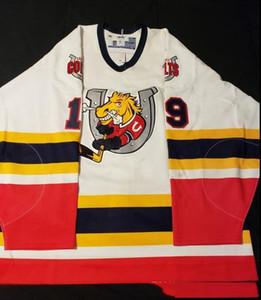 jersey fait sur commande 5XL 6XL Vintage BARRIE COLTS STEFAN Rovère Hockey Jersey broderie Cousu Personnaliser les chandails numéro et nom