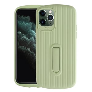 New Apple 11 imitating liquid silicone creative mobile phone case suitable for iPhone with bracket promax protector