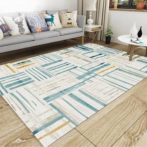거실 침실 베이 창 유럽 소프트 고의 quanlity 카펫 크리스탈 벨벳 미끄럼 6 색 지역 양탄자