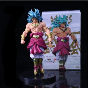 Anime Dragon Ball Z Broli Figure Super Saiyan Broli Broly Doll PVC Action Figures Toy Brinquedos 22cm