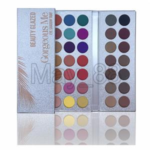 2020 hot Makeup Beauty Glazed 63 Colors Eyeshadow Palette Gorgeous Me Eye shadow Tray pressed powder shimmer matte Eye Cosmetics