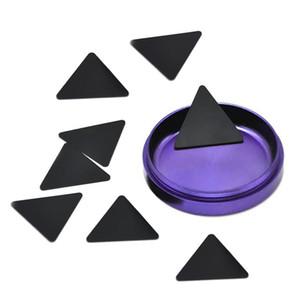 Raschietti polline Triangolo nero di plastica per Herb Grinder polline raschietto per tabacco Polline Pala per Fumatori spedizione gratuita
