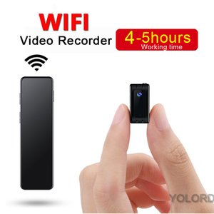 High Quality Magnetic Portable Wireless WIFI Mini Remote p2p ap ip Camcorder HD Camera Motion detection Night vision Wide Angle