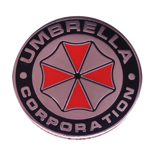 Resident evil umbrella corporation insignia seguridad TSI equipo pin disfraz accesorio divertido regalo elegante idea