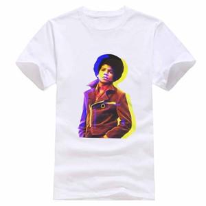Hot 2019 Summer Fashion T Shirt Novità King Of Pop Classic Rock Michael Jackson Maglietta Uomo Donna T-shirt S - 5xl