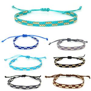 Nation Wind Woman Fonds main measly Manuel Weave Posimi Deuxième Bracelet Vent