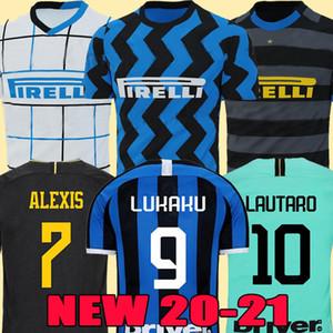 LUKAKU Thailand ALEXIS LAUTOARO Martinez Inter MILAN CHAMPION Mailand 2019 2020 Fußball Trikot PERISIC NAINGGOLAN POLITANO Meister Liga Trikot 19 20 Fußball-Kit-Shirt
