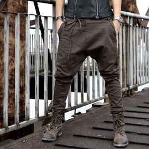 Mens Fashion Joggers Casual Harem Sweatpants Sport Pants Trousers Men Tracksuit Bottoms for Track Training Jogging Plus Size