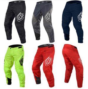 Nuovo TROY LEE DESIGNS pantaloni moto gara di ciclismo off-road pantaloni sottili pantaloni pista