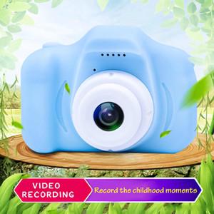 2020 Hot Xmas для детей камеры Дети Мини цифровая камера Симпатичный мультфильм Cam 13 Мпикс 8MP зеркальные камеры Игрушки для подарка дня рождения 2-дюймовый экран