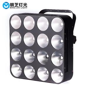 MFL B400 LED COB Blinder Luz Matrix 16 * 30w RGB Stage Luz para a festa de disco dj