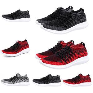 delle donne del progettista di lusso degli uomini scarpe da corsa Nero Rosso Grigio Primeknit calzino formatori sport scarpe da ginnastica di marca fatta in casa Made in dimensioni della Cina 39-44