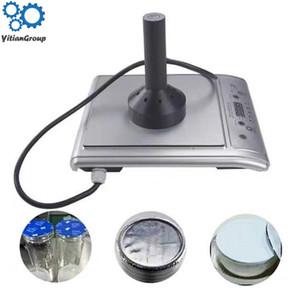 aluminio de la inducción electromagnética lámina máquina botella de vidrio de la máquina de sellado botella de plástico botella miel barril bebida tapado