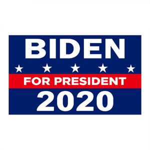 90 * 150cm 2020 Biden Başkan Electi Bayrak Banner Polyester Konfedere Bayrağı Kafa Metal Gromet Kişilik Dekor Banner Bayraklar VT1468
