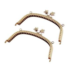 2pcs metallo della struttura della borsa Classic Star Bacio Chiusura di blocco Arco Frame per sacchetto del raccoglitore della moneta Fare