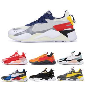 PUMA RS-X Toys Мода Creepers RX-S Reinvention женщин людей кроссовки белый черный красный зеленый золото многоцветного бренд мужских тренеров обувь размер 36-45