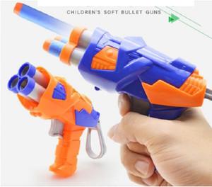 Segurança arma Modelo jogando bala Soft Toys crianças armas com ar suave Bullets Meninos armas de ar Pistola Amor Superfun armas para presentes do bebê Crianças