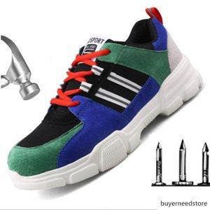 Unisex Classic Luxury Designer Fashion Boots Men Sneakers Steel Toe Cap Lightweight Outdoor Gym Trainer Work Safety Shoes Men