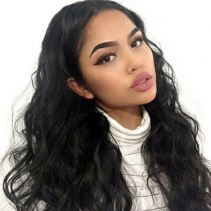 Body Wave Human Hair Lace Front Wigs Pre Plucked Unprocessed Peruvian Hair Full Lace Wigs with Baby Hair