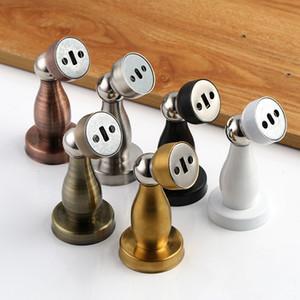 Paslanmaz Çelik Kapı sürgüler Güçlü Manyetik Kapı Stopper Tutucu Salon Yatak Odası Banyo Sessiz Kapı Stopper Bina Donanım