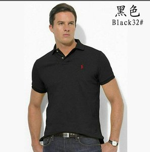 2020 Mens Designer Polos Brand horse Crocodile Embroidery clothing men fabric letter polo t-shirt collar casual t-shirt tee shirt tops