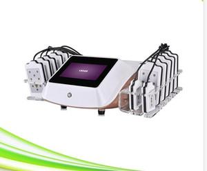 14 Pads nicht-invasive Fettabsaugung kalt Zerona Laserliposuktion Körper slim Laserliposuktion Maschine