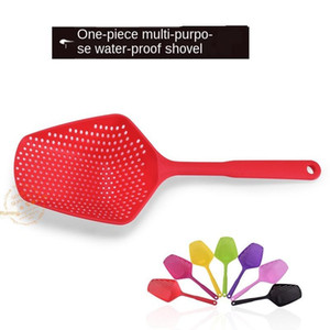 Seven-color Environmental Protection Pp Long Colander New Material Water-proof Shovel Water-proof Leakage Shovel Plastic Ice