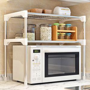 3-tier Multi-funcional Cozinha Storage Shelf Tabela rack Micro Unidade Forno Prateleiras 2-tier Banho Book Shelf T190708