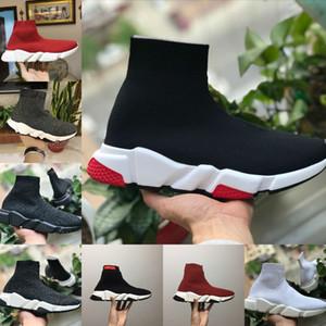 Casual Shoes Speed Trainer donna Parigi Calze Scarpe Uomo Donna Sconto Heavy Sole Moda Runner Sport scarpe da trekking Stylist Sneakers