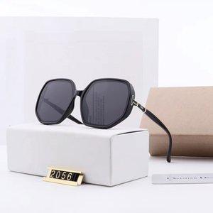 Fashion Sunglasses Womens Big Frame Polarized Sunglass Lentes Eyewear Women Trend Ladies Buffalo Horn Sun Glasses 2020