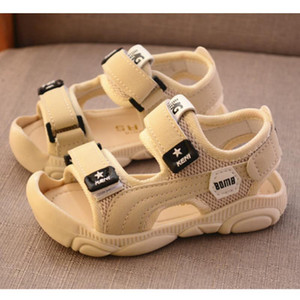 Kids Shoes Summer Sandals Children Sports Casual Sneakers Boys Breathable Beach Shoes Baby Anti-kick Sandals