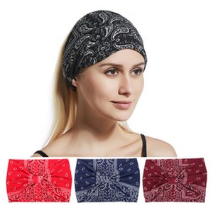 HOT 4 Colors Hairband Hair Accessories Scrunchies Band Vintage Bandeau Cheveux Headbands For Girls & Women HYC216